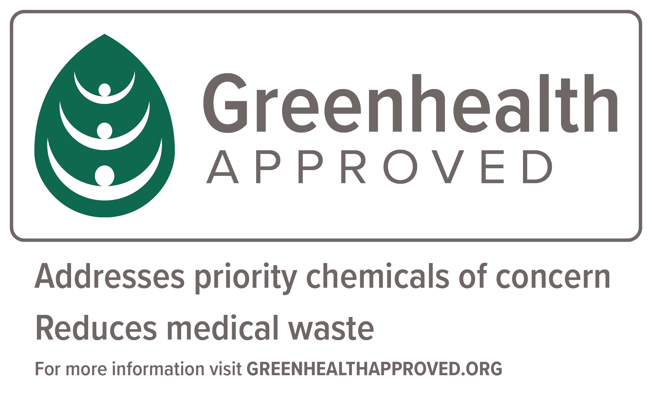 Greenhealth Approved logo